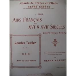 TESSIER Charles Dancez devant ces Beaux Yeux Chant Piano