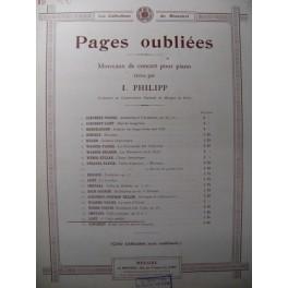 LISZT Franz 1ère Valse oubliée Piano