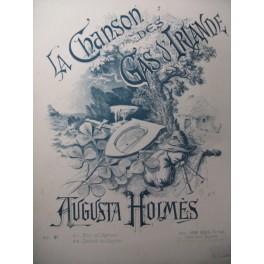 HOLMÈS Augusta La Chanson des Gas d'Irlande Chant Piano 1892