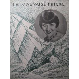 AUBERT Louis La Mauvaise Prière Chant Piano 1932
