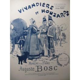 BOSC Auguste Vivandière et Houzards Piano 1904
