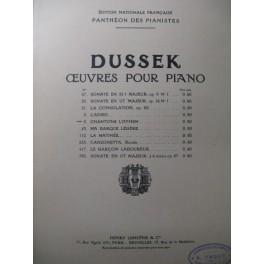 DUSSEK J. L. Chantons L'Hymen Piano