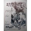 HALET Laurent Bravoure Burret Piano ca1900