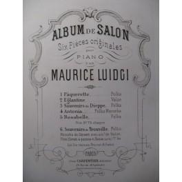 LUIDJI Maurice Paquerette Piano XIXe