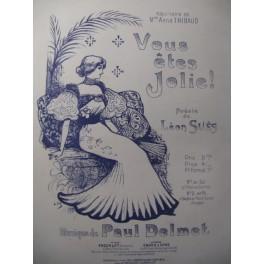 DELMET Paul Vous êtes jolie ! Chant Piano 1896