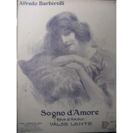 BARBIROLLI Alfredo Sogno D'Amore Piano 1912