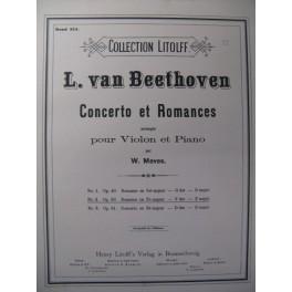 BEETHOVEN Romance op.50 Violon Piano