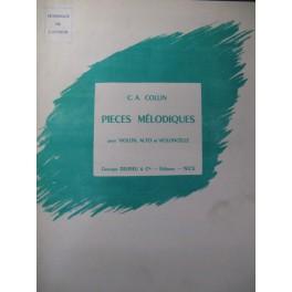 COLLIN C. A. Pièces mélodiques 1 Violon Alto Violoncelle