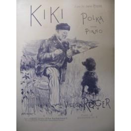 ROGER Victor Kiki Piano XIXe