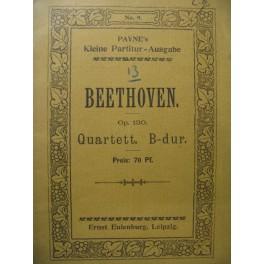BEETHOVEN Quartett op. 130 Violon Alto Violoncelle