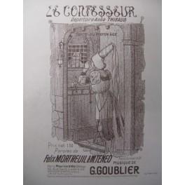 GOUBLIER G. Le Confesseur Chant Piano XIXe