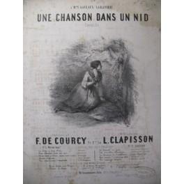 CLAPISSON L. Une Chanson dans un Nid Chant Piano 1851
