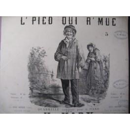 MARX H. L'pied qui r'mue Piano ca1850