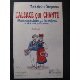 STEPHAN Madeleine L'Alsace qui Chante Chant Piano
