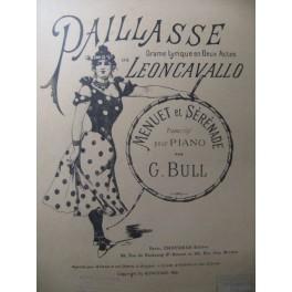 LEONCAVALLO Paillasse Piano 1956