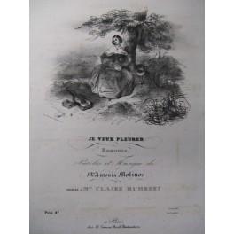 MOLINOS Antonia Je veux Pleurer Chant Piano ca1840