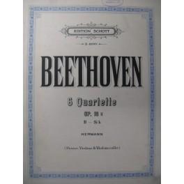 BEETHOVEN Quatuor n° 6 Piano Violon Violoncelle