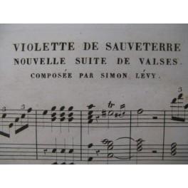 LÉVY Simon Violette de Sauveterre Piano XIXe