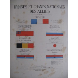 Hymnes et Chants Nationnaux des Alliés