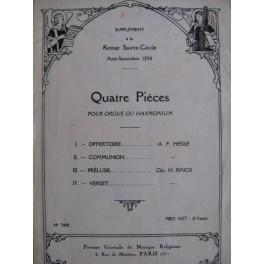 Revue Sainte Cécile Août-Septembre 1926