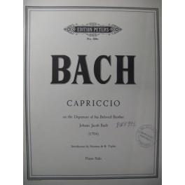 BACH J. S. Capriccio Piano