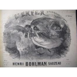 BOHLMAN SAUZEAU Henri L'Enfer Piano 1844