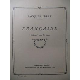 IBERT Jacques Française Piano 1928