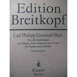 BACH C. P. E. Recueil n° 5 Piano