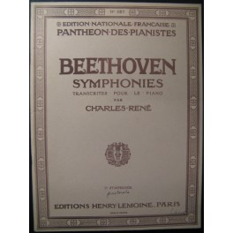BEETHOVEN Symphonie n° 6 Piano