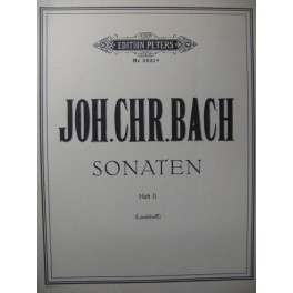 BACH J. C. Sonates n° 6 à 10 Piano