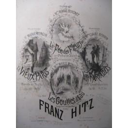 HITZ Franz La Fée des Fleurs Piano XIXe