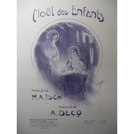 DECQ A. Noël des Enfants Chant Piano ou Orgue