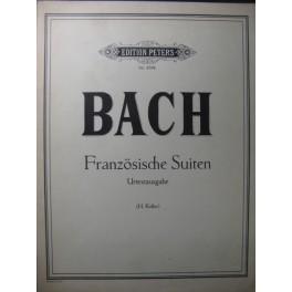 BACH J. S. Suites Françaises Piano