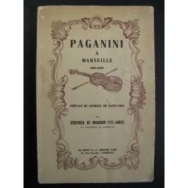 DE MIRAMON FITZ-JAMES B. Paganini à Marseille 1941