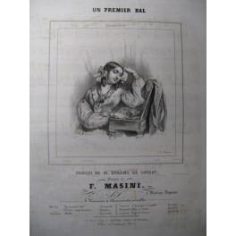 MASINI F. Un Premier Bal Chant Piano ca1830