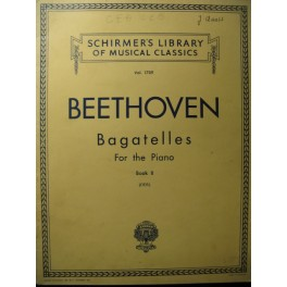 BEETHOVEN Bagatelles Vol 2 Piano