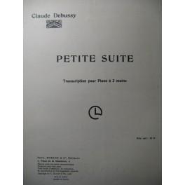 DEBUSSY Claude Petite Suite Piano