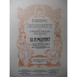 MOZART W. A. Quartett 8 Violon Alto Violoncelle