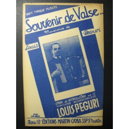 Souvenir de Valse Louis Peguri Accordéon