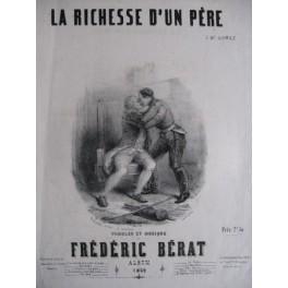 BÉRAT Frédéric La Richesse d'un Père 1849