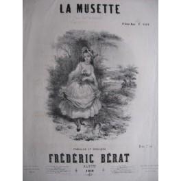BÉRAT Frédéric La Musette 1849