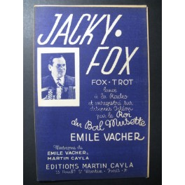 Jacky Fox Emile Vacher Accordéon