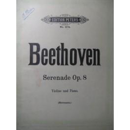 BEETHOVEN Sérénade op. 8 Piano Violon