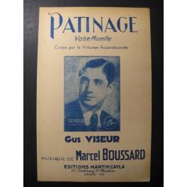 Patinage Gus Viseur Accordéon
