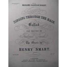 SMART Henry Singing Through the Rain Chant Piano XIXe