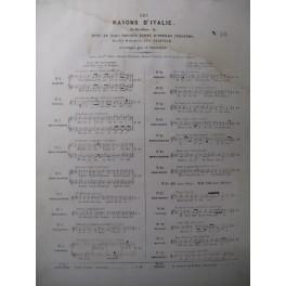 ROSSINI G. C'est bien Lui Chant Piano 1842