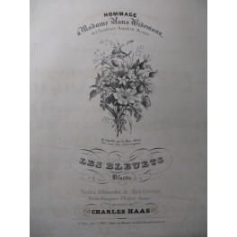 HAAS Charles Les Bleuets Chant Piano ca1840
