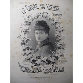 COLLIN Lucien Le Cadre de Lierre Chant Piano XIXe