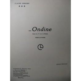 DEBUSSY Claude Ondine Piano 1965