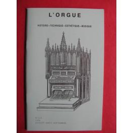 L'ORGUE Revue N° 239 Juillet Aout Septembre 1996